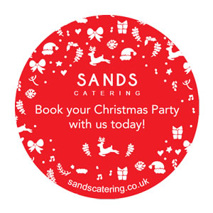 Celebrate Christmas with Sands Catering